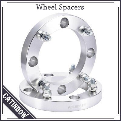 "ATV Wheel Spacers Polaris Trail Blazer 2/"" per side 3//8/"" stud spacers 4/"""