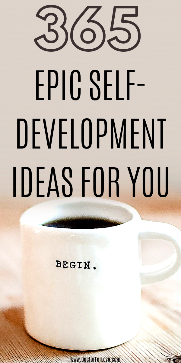 365 Self-Development Ideas For Your Personal Development Plan #personalgrowth