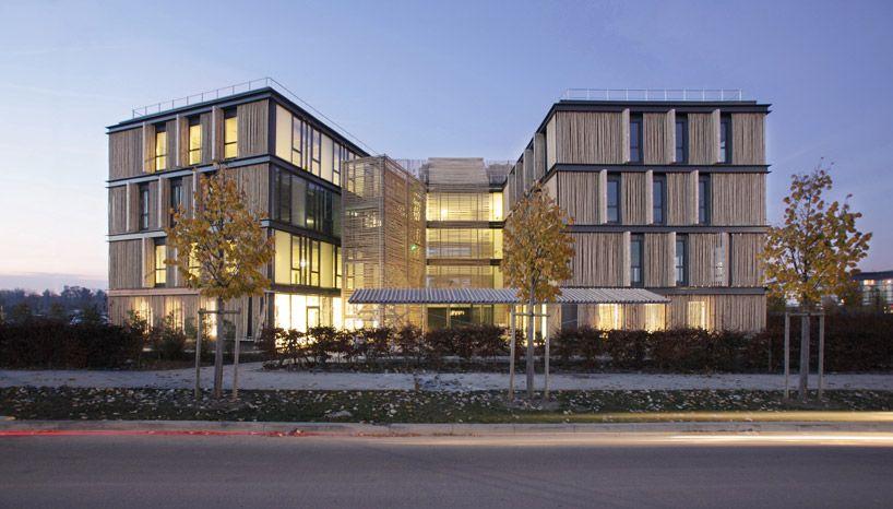 Immeuble Bambou Carr Snart Architecture contemporaine