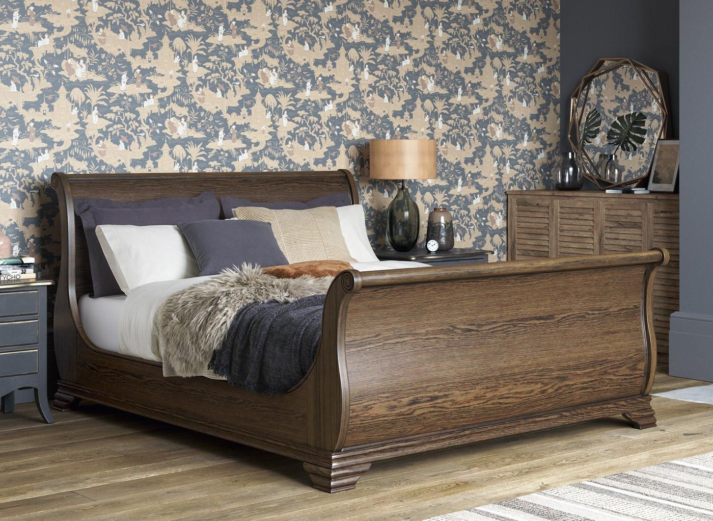Otis Pine Wooden Bed Frame 5'0 King Size Dreams in