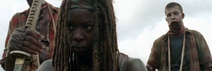 That Michonne stare awesome