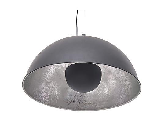 Hanglamp Silver Sun, zwart/zilver, Ø 55 cm