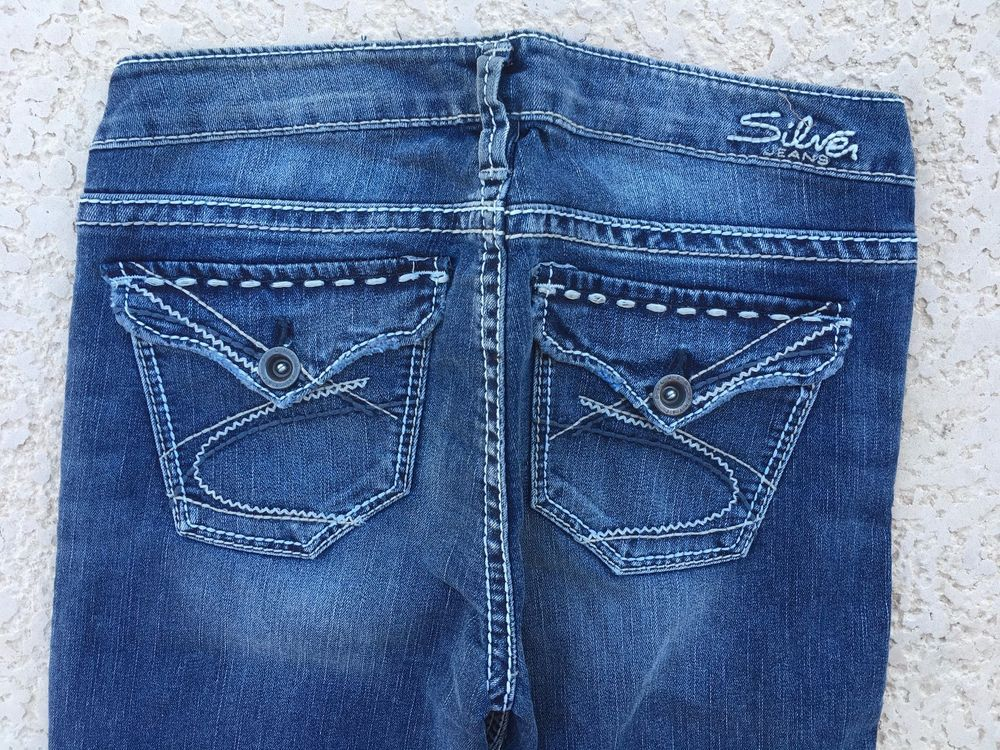 6d072547 SILVER JEANS SALE Red Label Surplus Flap Pocket Bootcut Stretch Jean  27,28,30 #SilverJeans #BootCut