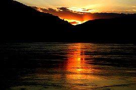 Sunset, Lake, Beautiful Landscape
