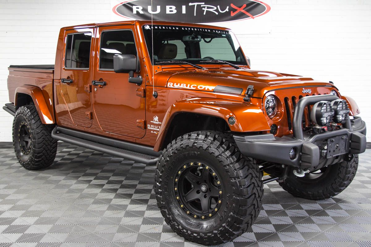 Pre Owned 2014 6 4l Hemi Brute Double Cab Copperhead Pearl Jeep
