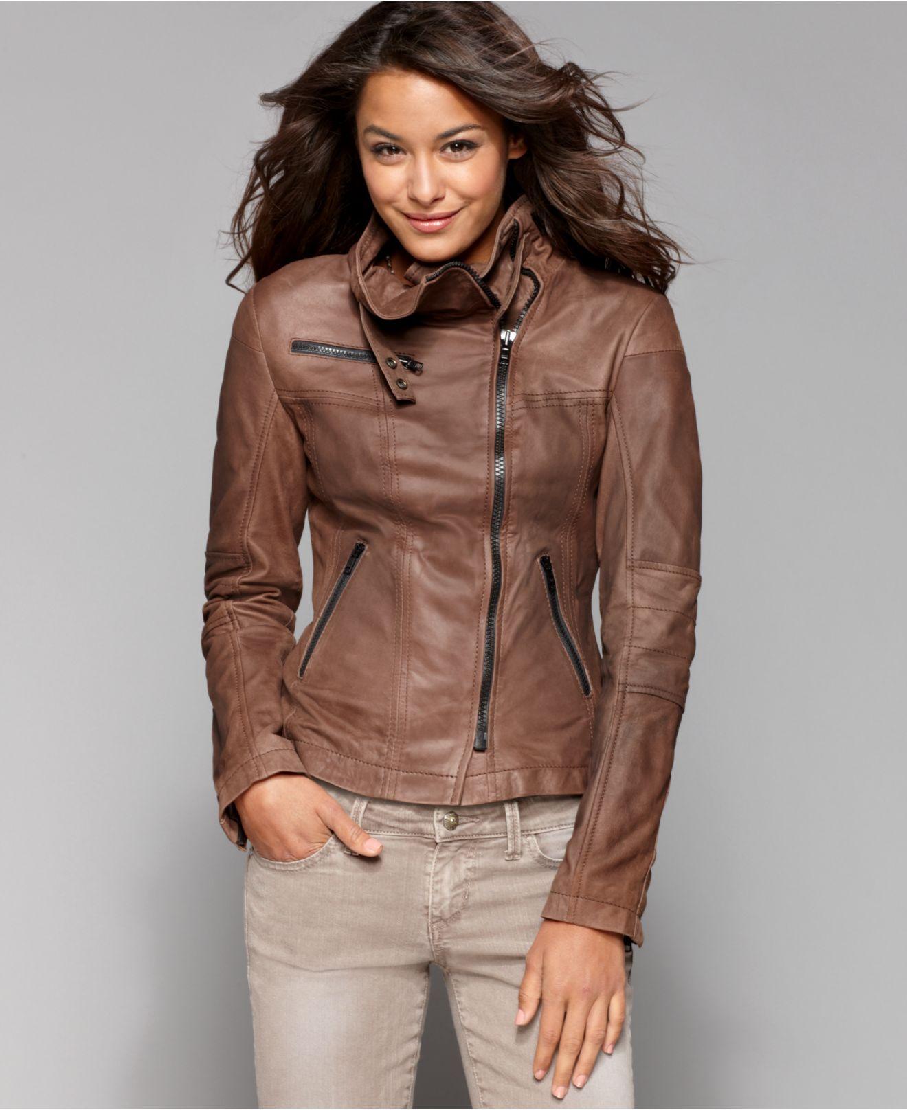 Buffalo David Bitton Jacket Leather Motorcycle Juniors Jackets Coats Macy S 350 00 Buffalo Jacket Jackets Coats For Women