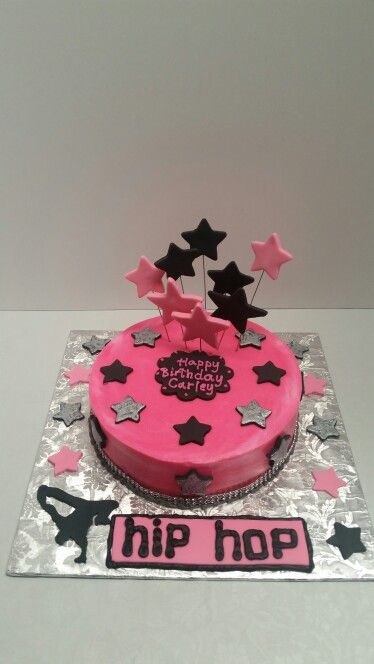 decoration gateau hip hop