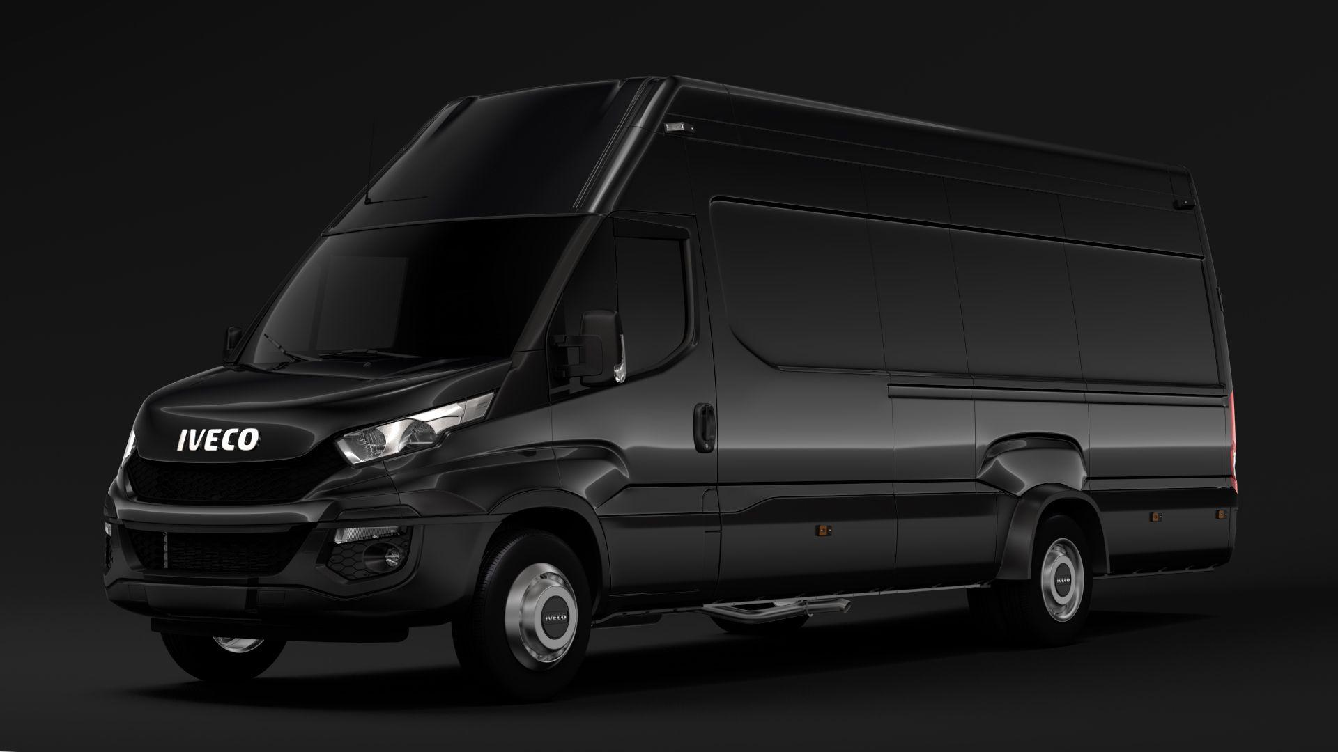 Iveco Daily Van 2014 2016 L5h3 3d Model Flatpyramid Karavanlar