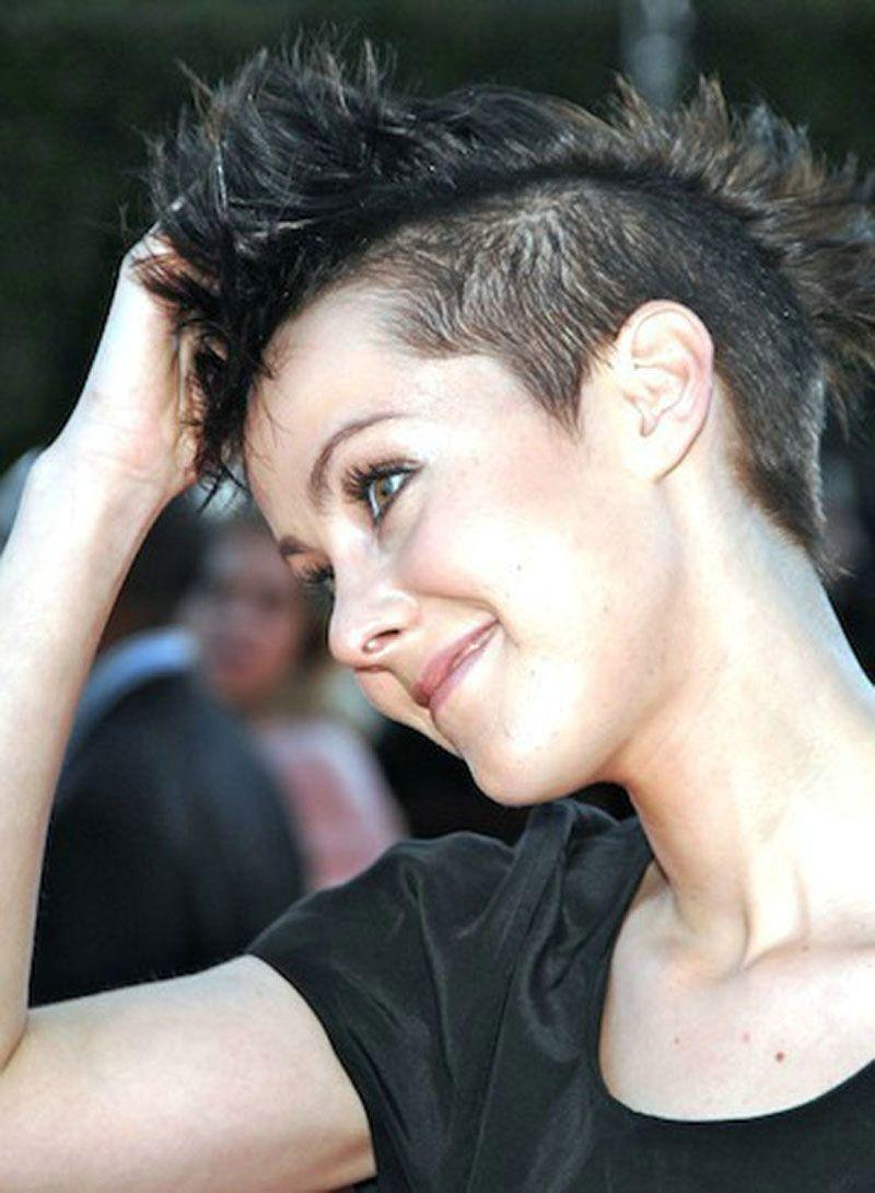 very short punk hairstyles for women - women short hairstyles