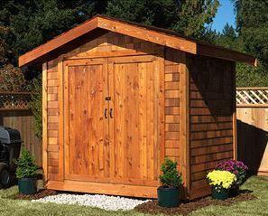 Best Aspen Cedar Shake Shed Kit Cedar Shed Cedar Shingle 640 x 480