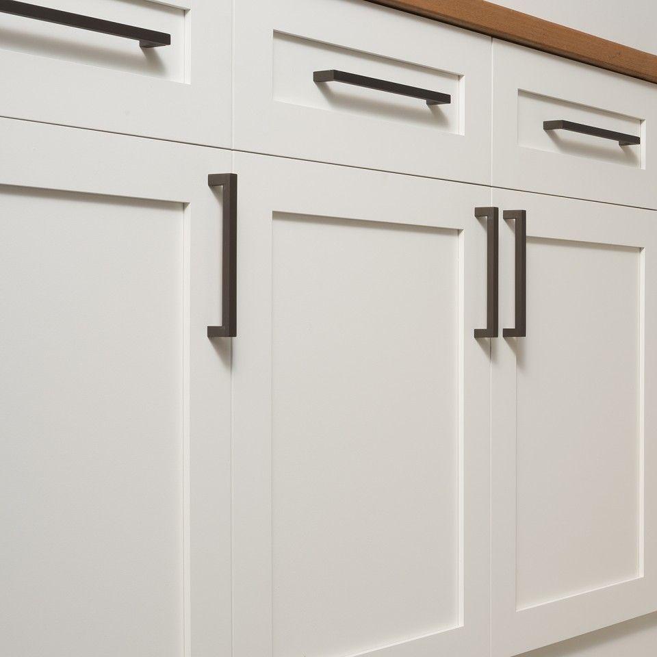 Kitchen Design Handles: Edgecliff Pull - Matte Bronze