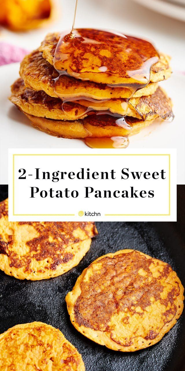 Recipe: 2-Ingredient Sweet Potato Pancakes