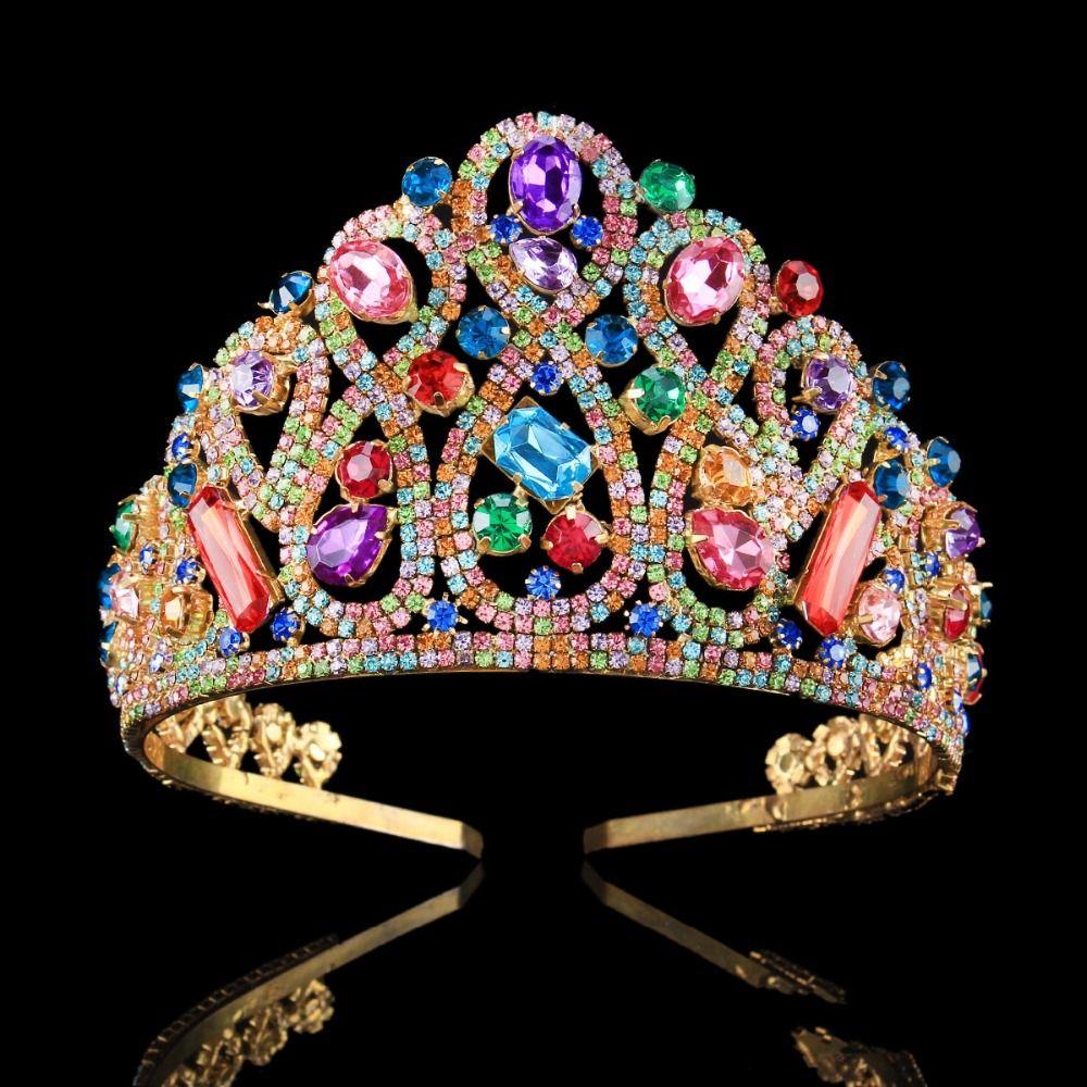 Wedding Tiara Rennaisancefaire Headdress Handmadeheadband Crystals Beads Queen Hairpiece Fairy Crown Crystal Bridal Tiaras Crystal Crown Tiaras Bridal Tiara