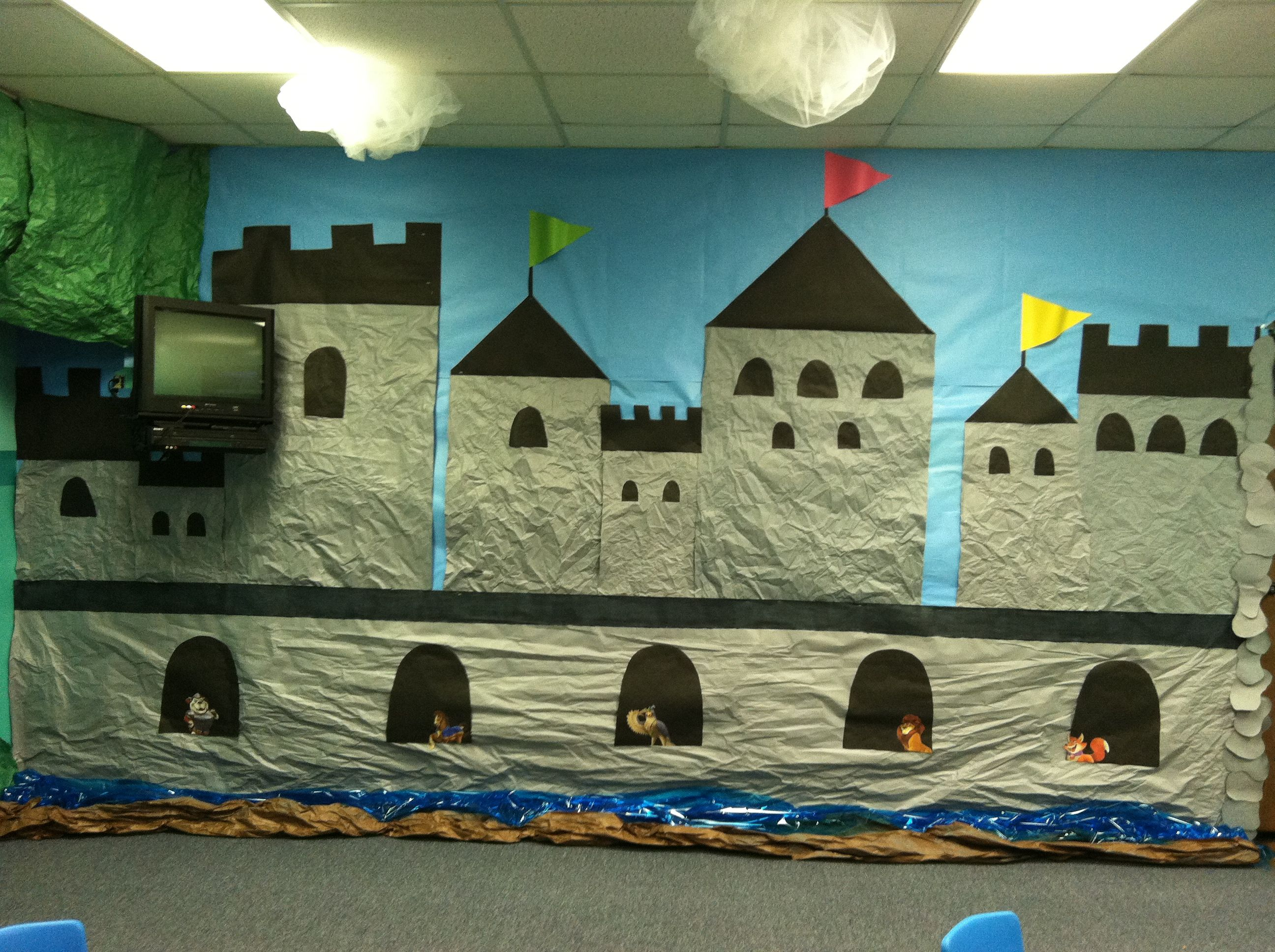 kingdom rock castle decorations, this would be awesome for vbs