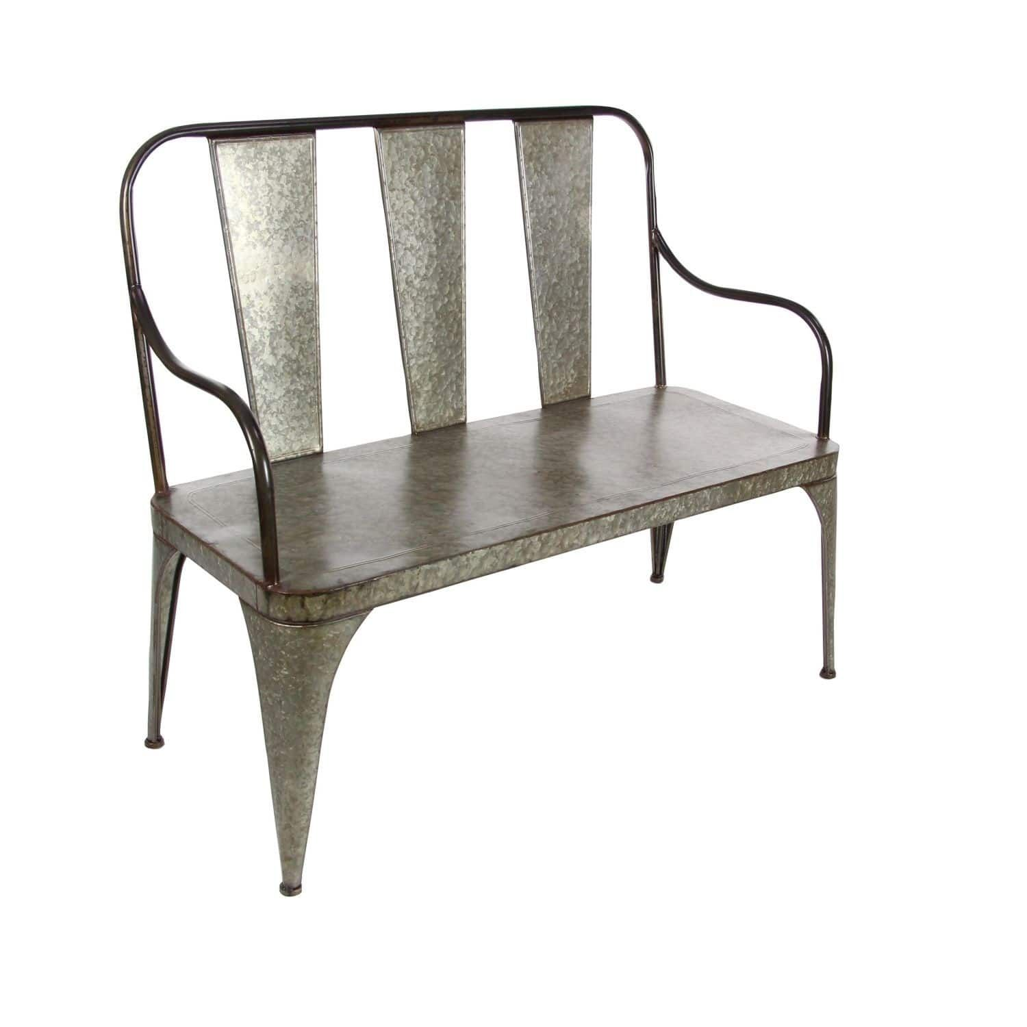 Studio 350 Metal Bench 45 Inches Wide 40 Inches High Home