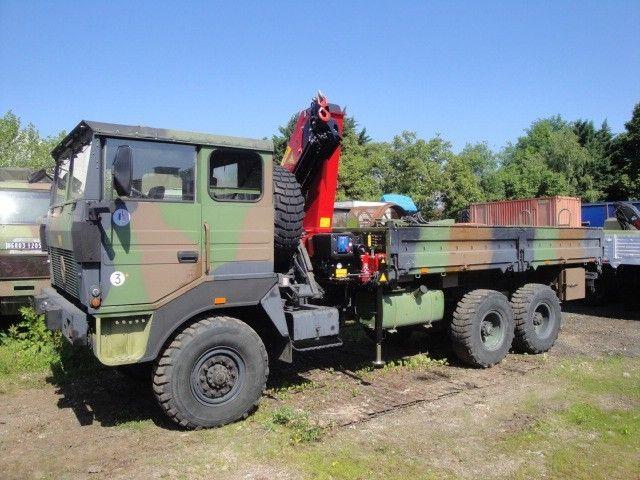 Renault Trm 10 000 Avec Grue La Boutique Framery Vehicules Militaires Armee Francaise Renault