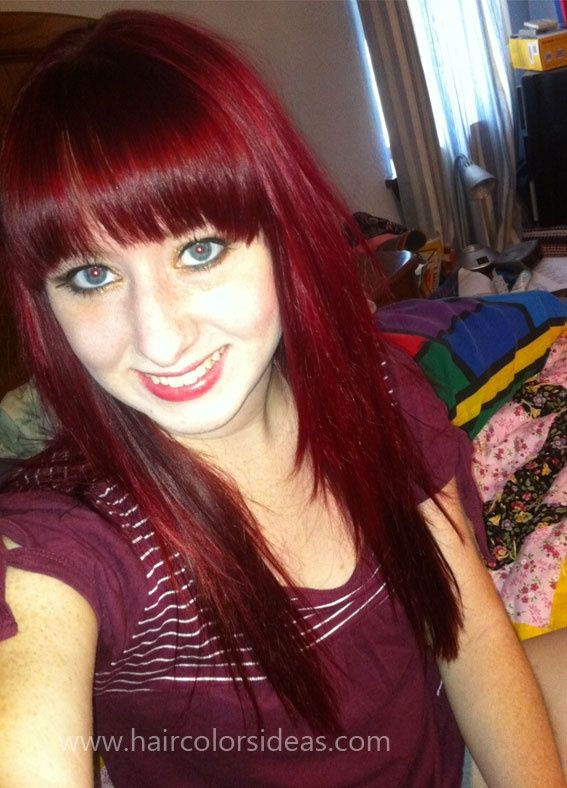 Pictures Burgundy Hair Color Pictures Httphaircolorideasforyou