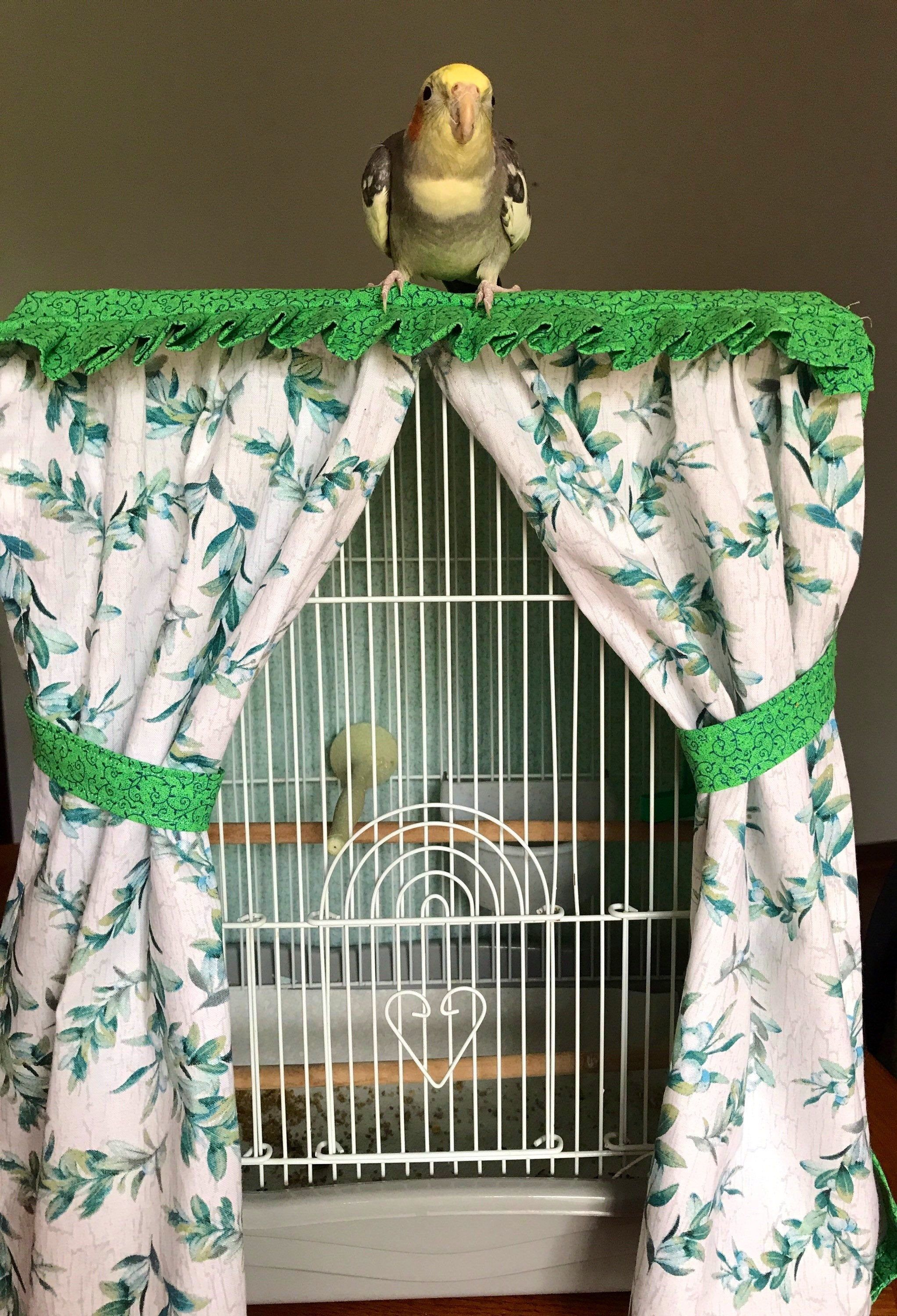 Bird Cage Cover Etsy In 2020 Bird Cage Covers Small Bird Cage Bird Cage