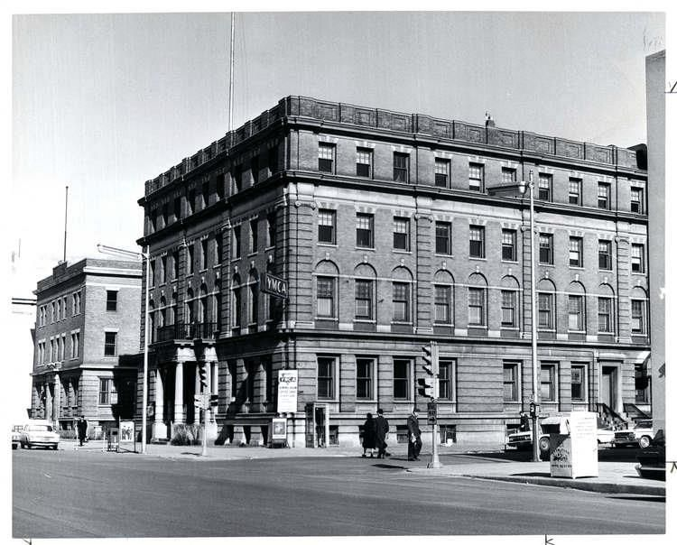 South Bend S Original Ymca Building Which Stood At The Northeast Corner Of Main And Wayne Streets South Bend