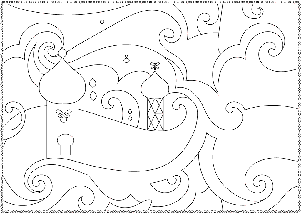 Shimmer And Shine Palace Picture To Color Coloring Pages Castle Coloring Page Shimmer N Shine