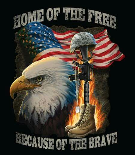 Home of the Free, Because of the Brave ✞ | Loving USA | Pinterest ...