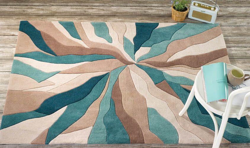 Tappeto Moderno Turchese : Tappeto tonalità azzurre tappeti tappeti tonalità