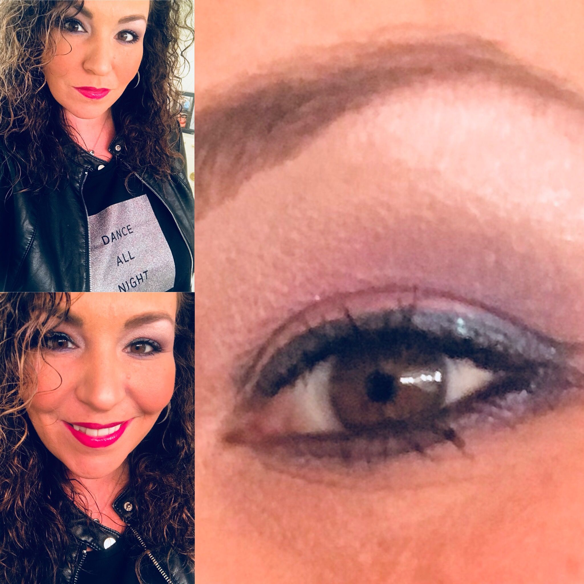 Having fun with some purples and greys! -#holidayglam #holidaymakeup #sparkleandshimmer #beautyinnovator #spaandglamwithkellyann #bethebestyou #beyourself