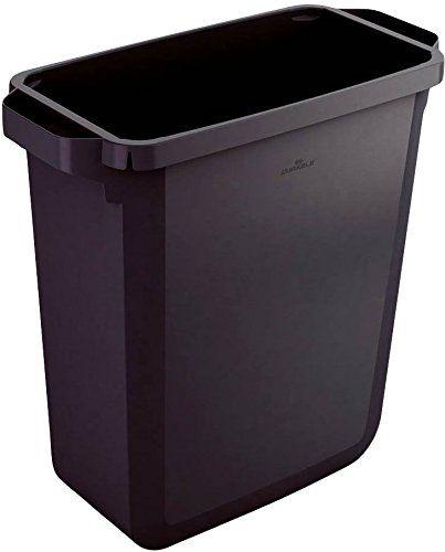 Durable 1800496221 Abfallbehälter Durabin 60 Liter, schwa