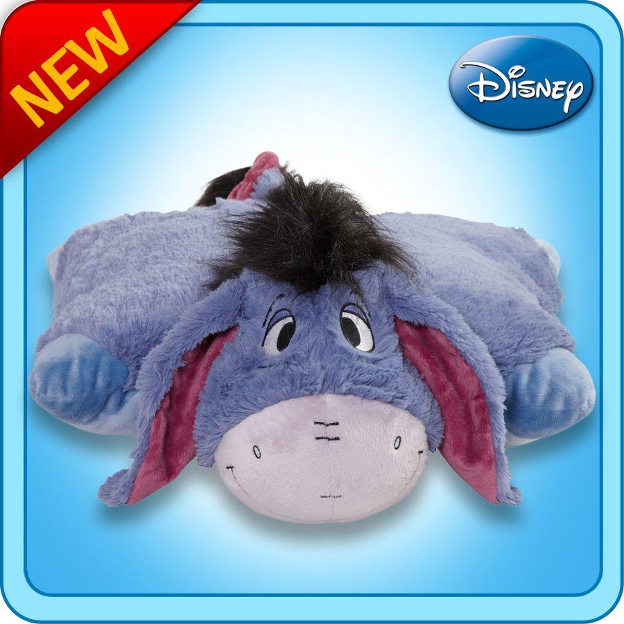 Eeyore...Pillow Pet!!! Animal pillows, Eeyore, Winnie