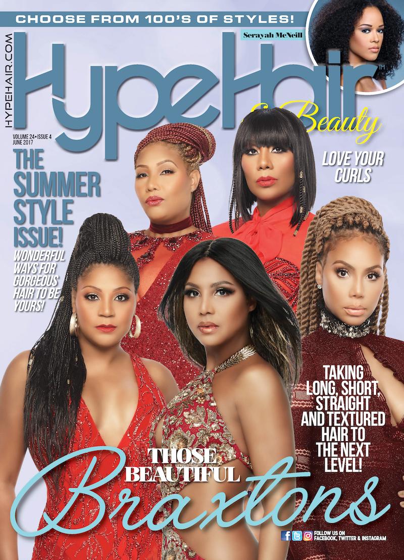 Hype Hair X June 2017 Black Magazinesfashion Magazineshairstyles