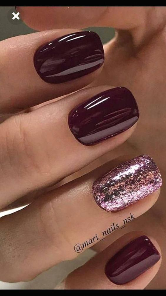 If You Prefer To Induce Modern Nail Color This Winter Then Prettynails Gelnails In 2020 Nails Modern Nails Trendy Nails