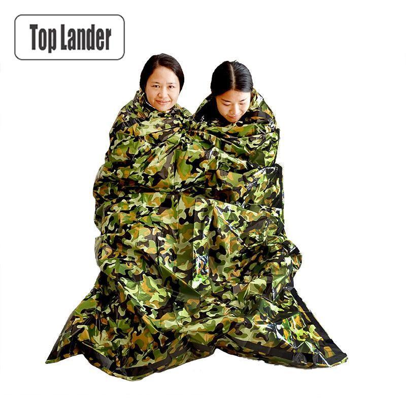 Emergency Sleeping Bag Survival Thermal Outdoor Keep Warm Waterproof Blanket