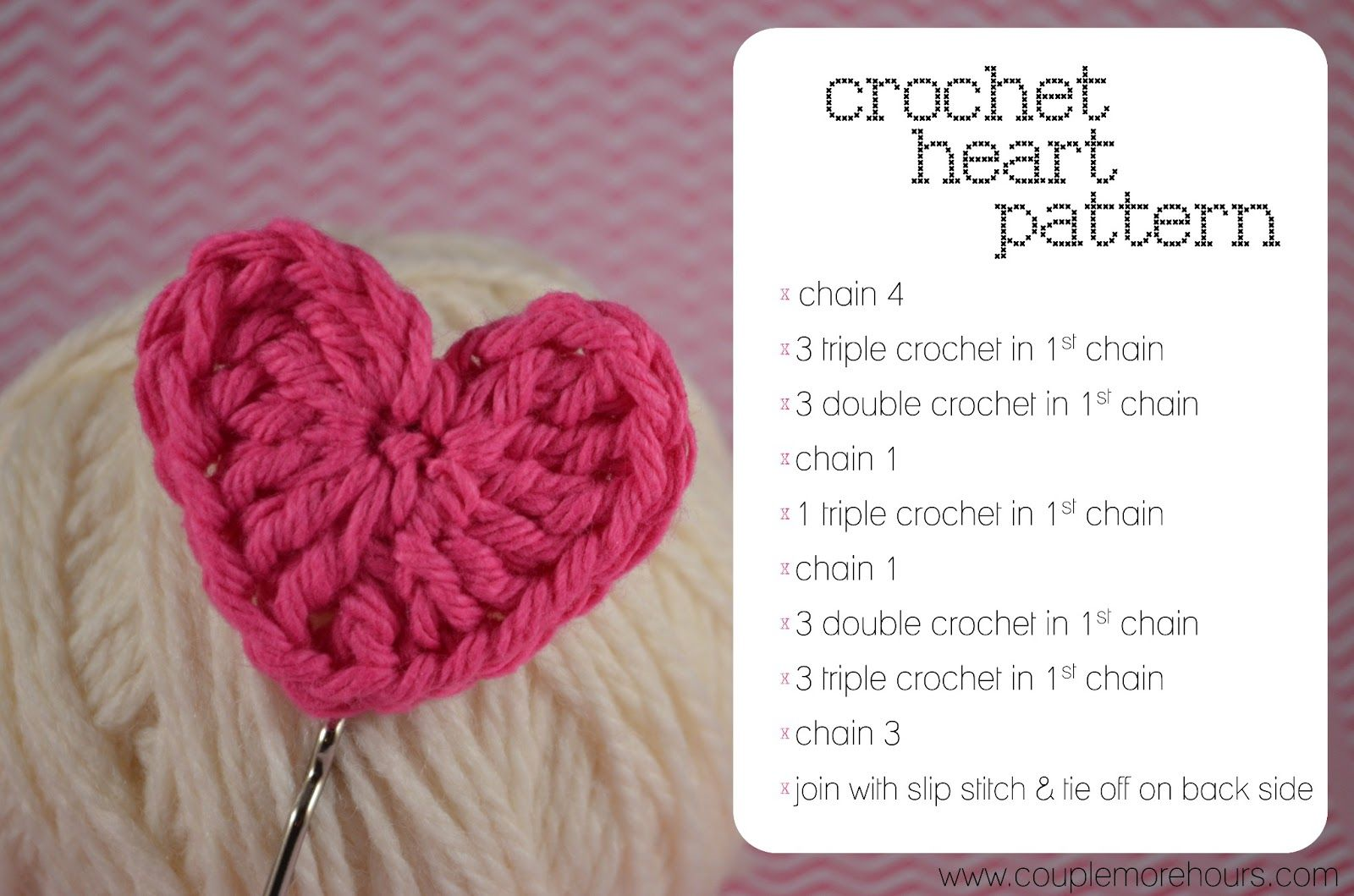Small crochet heart pattern you can use any size crochet hook i small crochet heart pattern you can use any size crochet hook i used a bankloansurffo Images