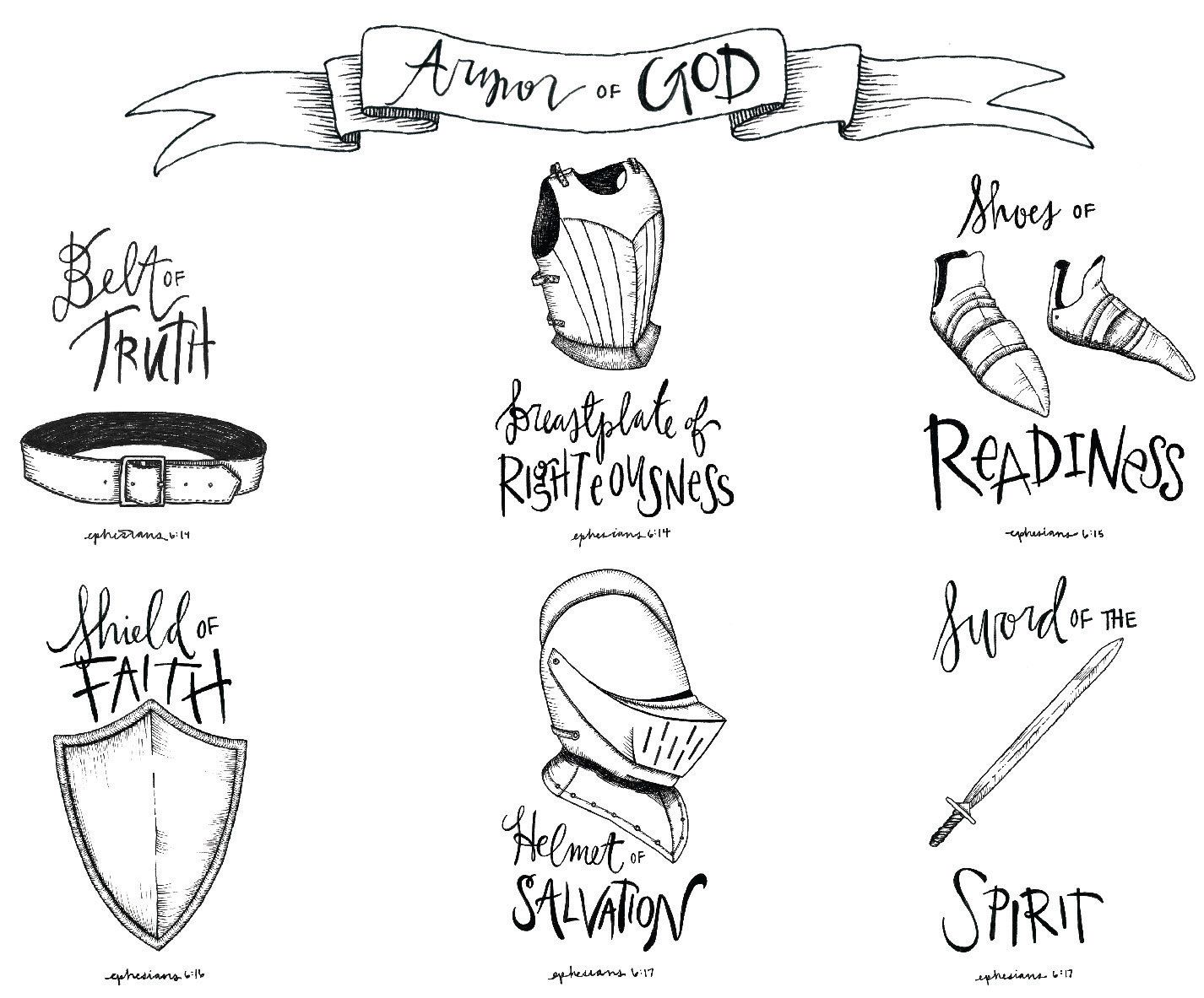 Diagram Of The Armor Of God - DIY Enthusiasts Wiring Diagrams •