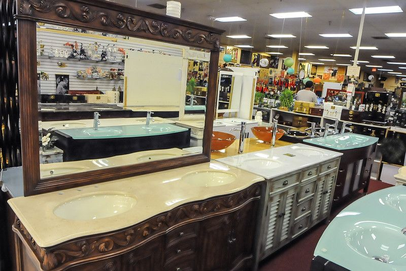 Mr Magoou0027s Is Your Place For Asian Decor, Furniture And The Most Amazing Bathroom  Vanities · Pompano BeachFlea ...