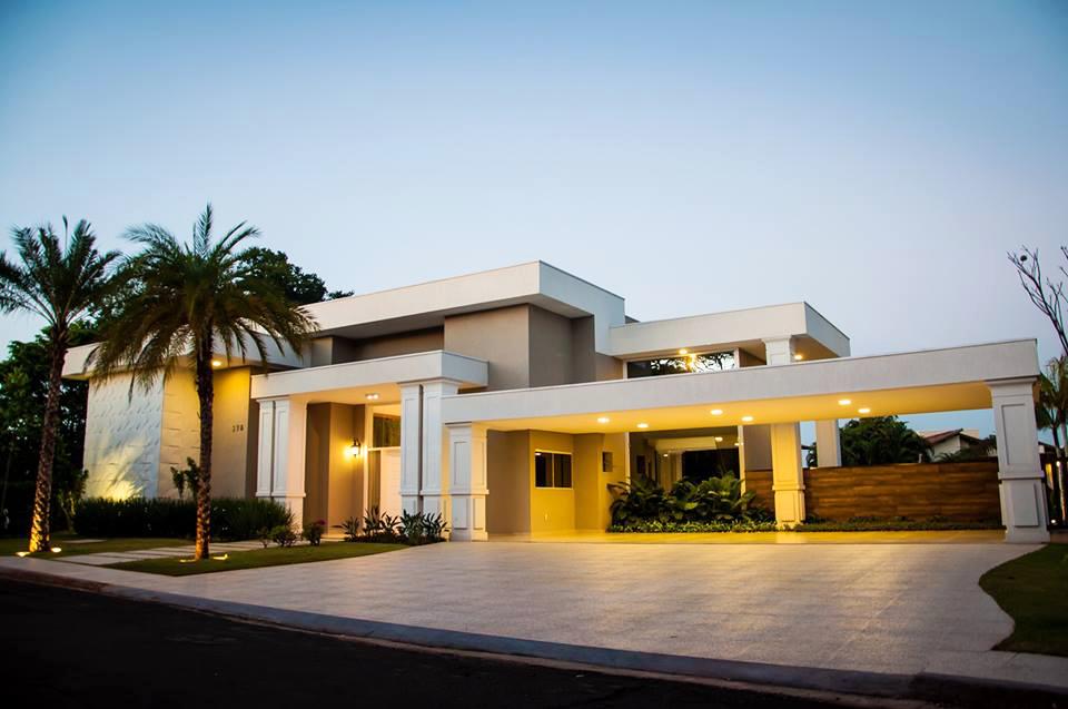 12 Fachadas de casas contemporâneas e lindas por Julliana