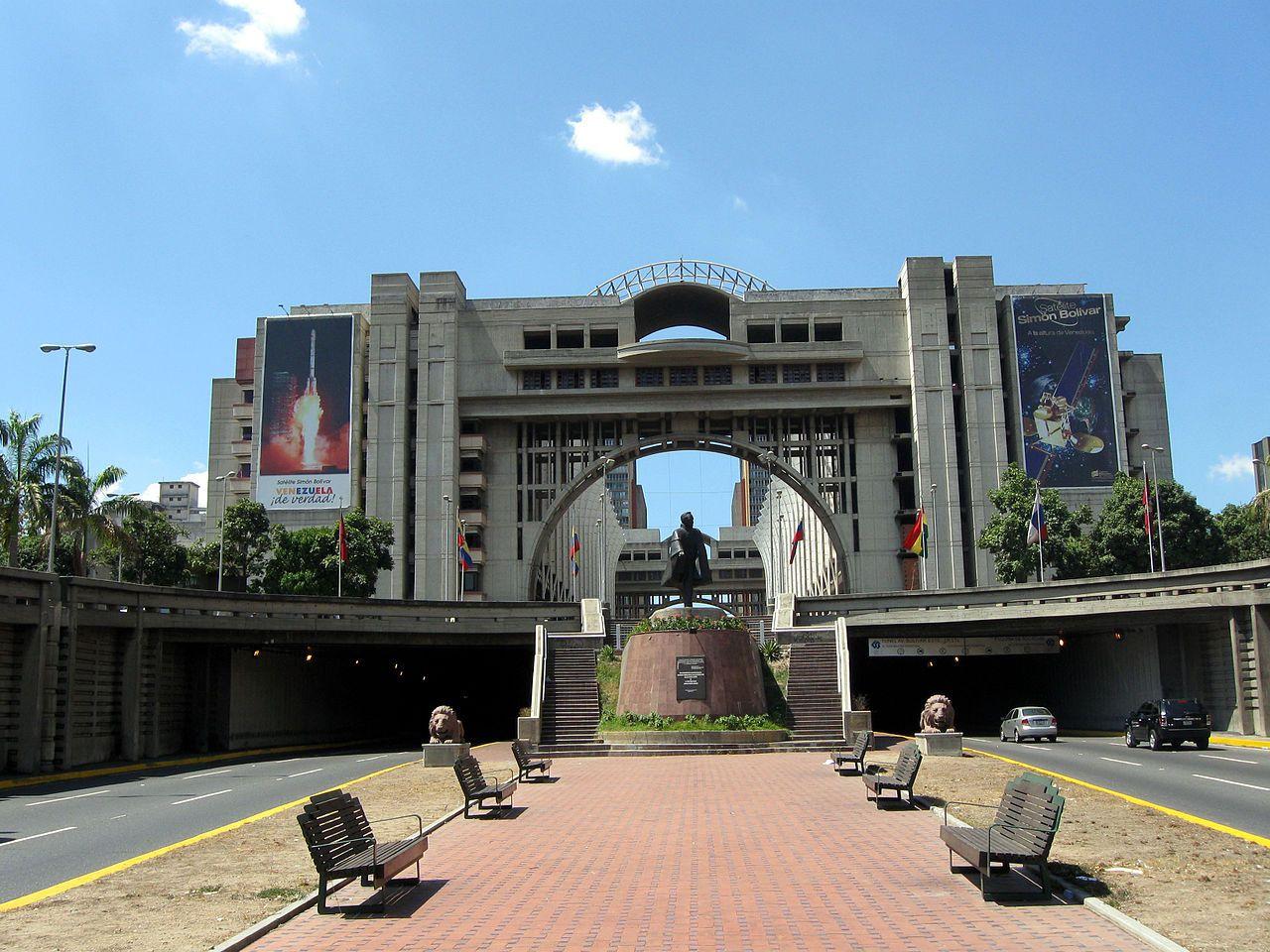 Av. Bolívar, Centro de Caracas.