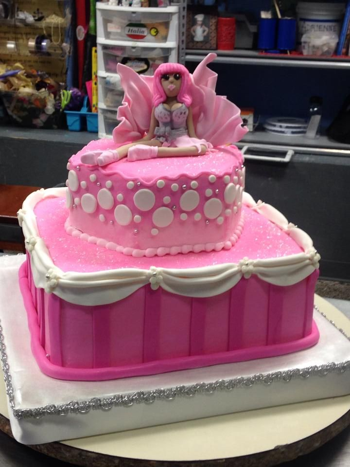 Nicki Minaj Birthday Cake Adrienne Co Birthday Cakes