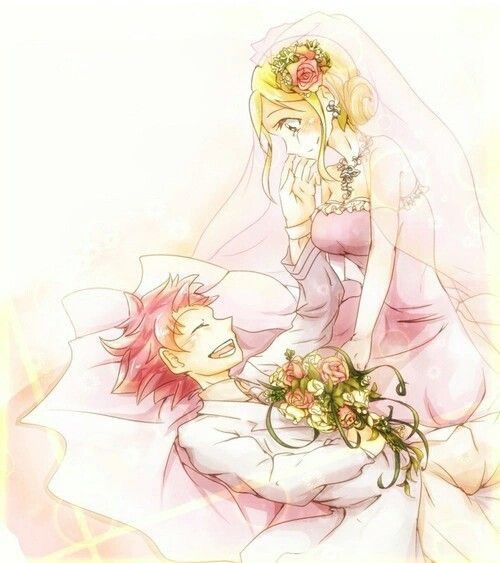 The wedding is on!!!! For NaLu | Fairy Tail | Pinterest ...