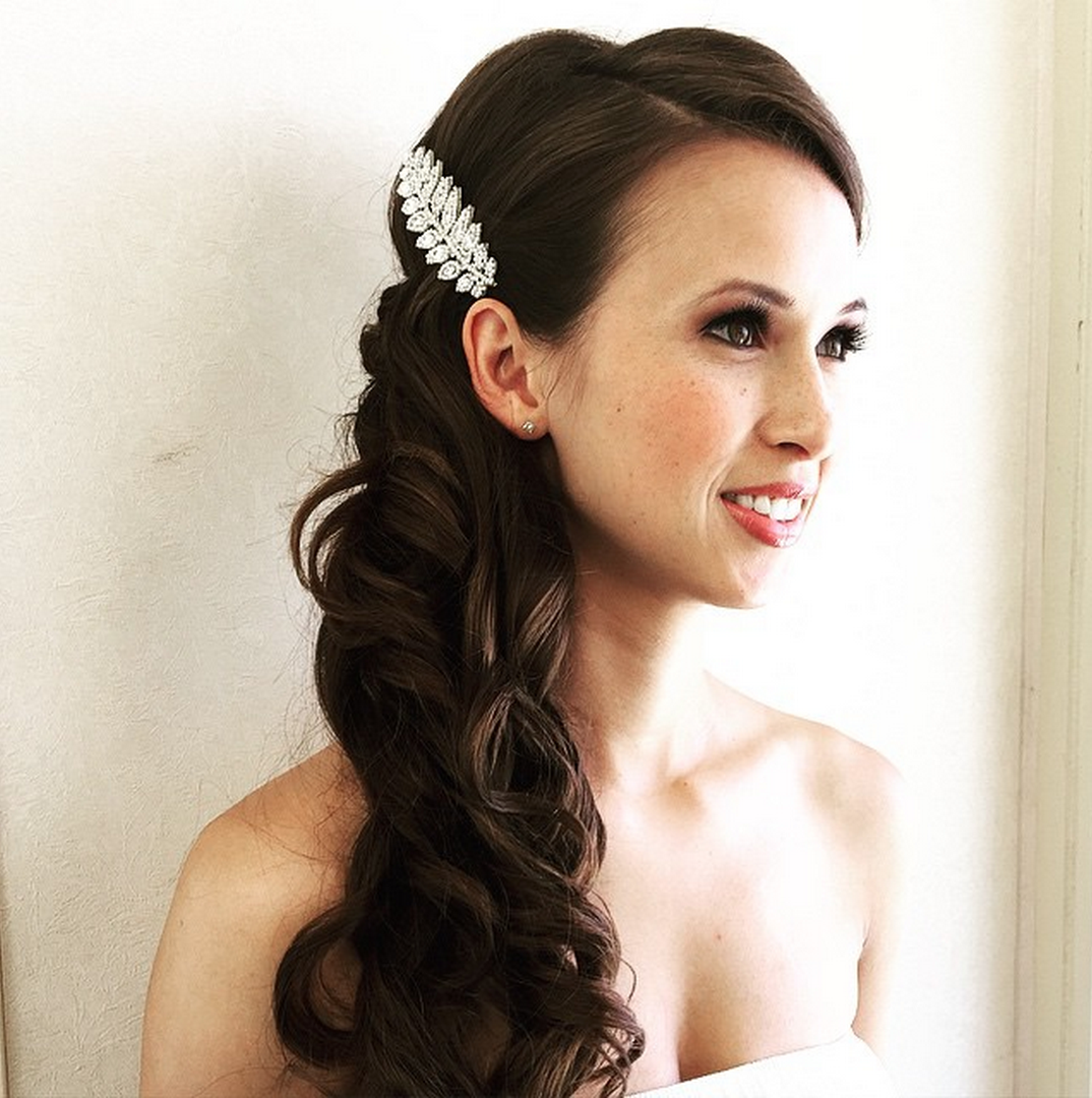Wedding Entourage Hairstyle: Becky, Hair And Make-up By Mobile Bridal Salon