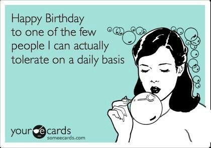 Happy Birthday Funny Bday