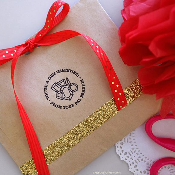 DIY Valentine's Day Treat Bags | Expressionery