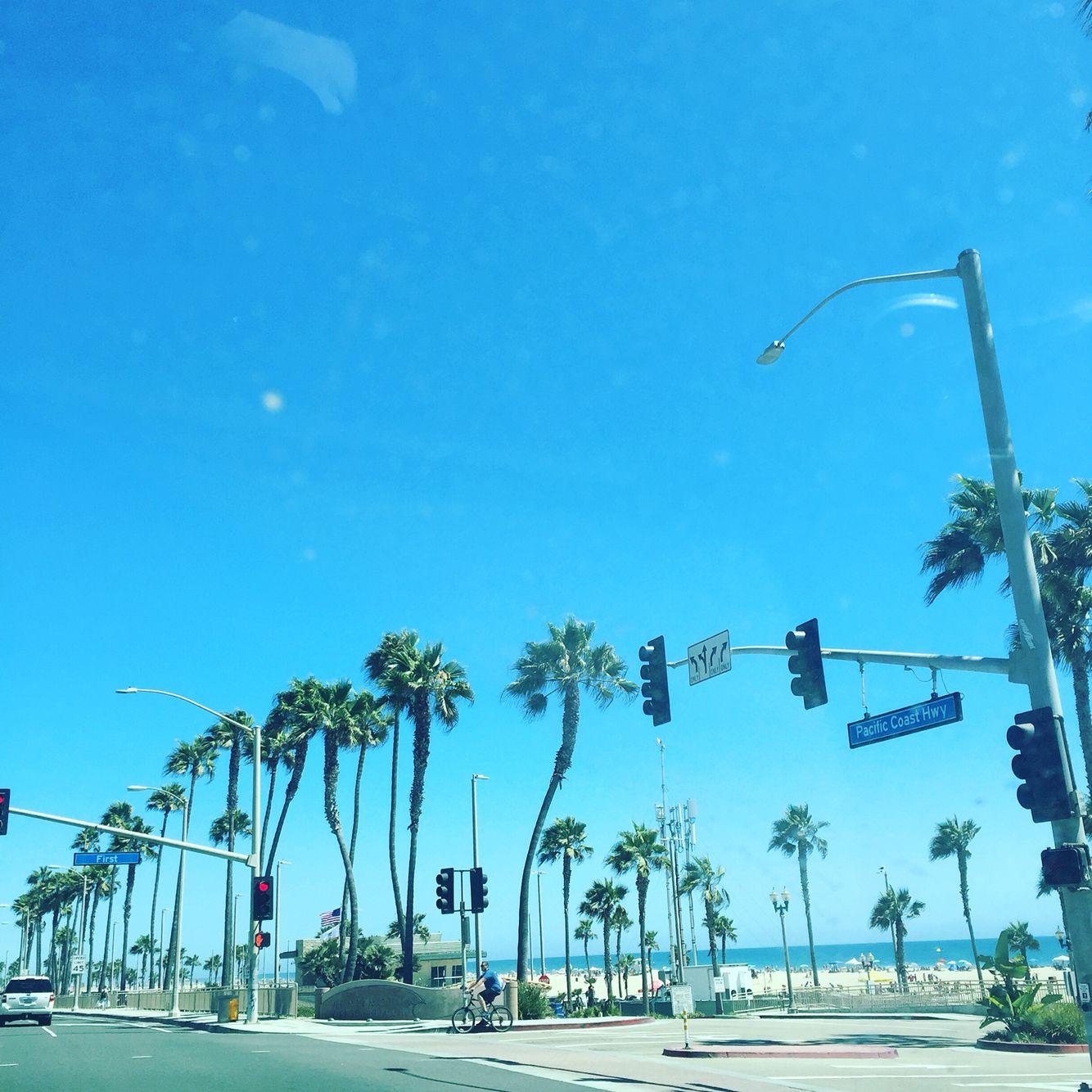 Huntington beach huntington beach beach california