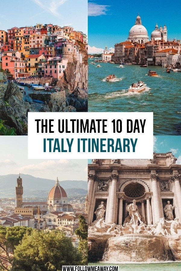 Photo of Hands Down, This Is The Only 10 Days In Italy Itinerary You Need – Follow Me Away