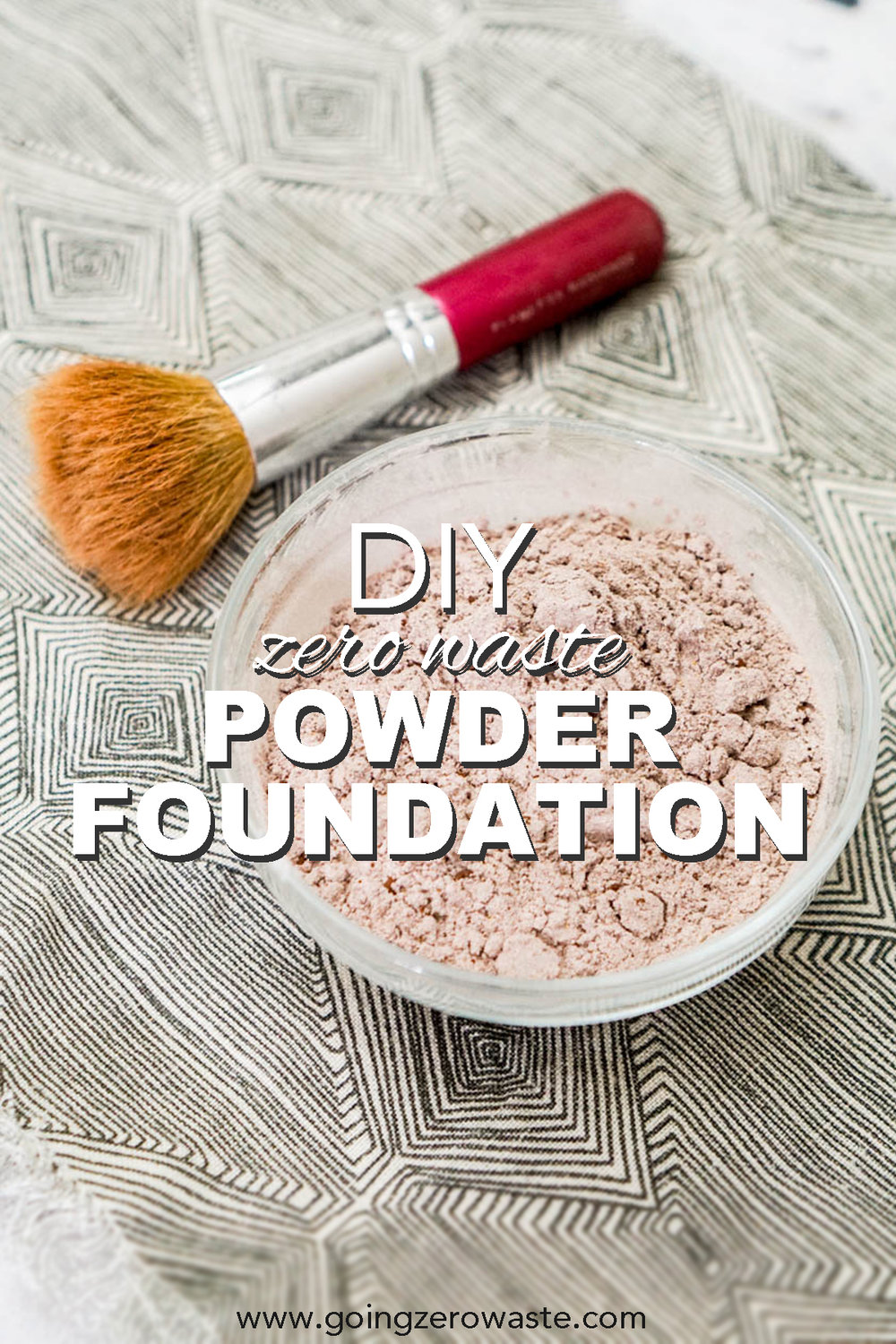 DIY, Zero Waste Powder Foundation - Going Zero Waste -   18 beauty Hacks foundation ideas