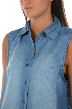 All about eve blouse / tuniek Tribal Sleeveless Blue 6410508 0 Blue » JeansandFashion.com