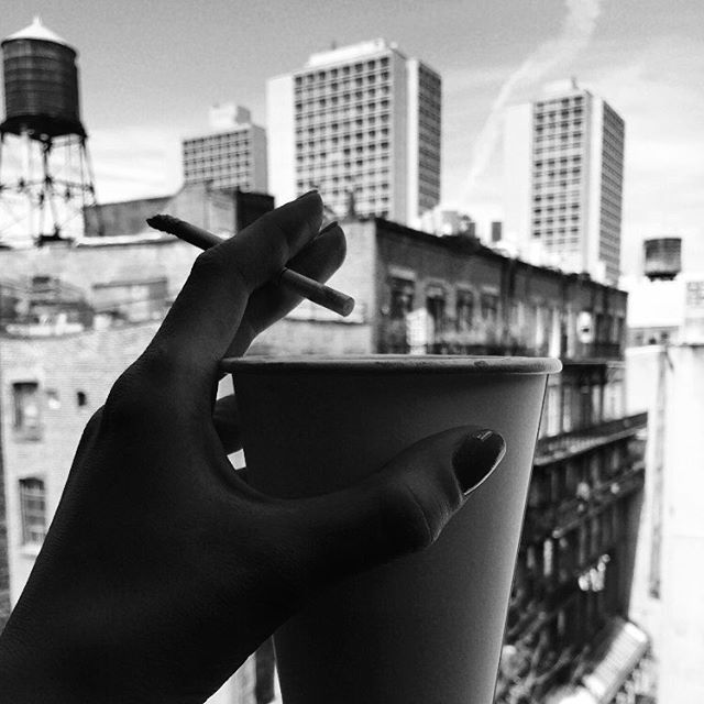 Work, coffee & cigarette directed by @venividivenchy