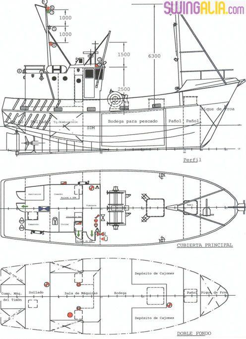 Estructura de barco pesca dibujo buscar con google for Dibujar planos gratis
