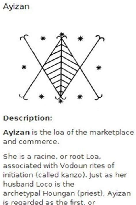 Rsultat Dimages Pour Voodoo Symbols And Their Meanings Voodoo