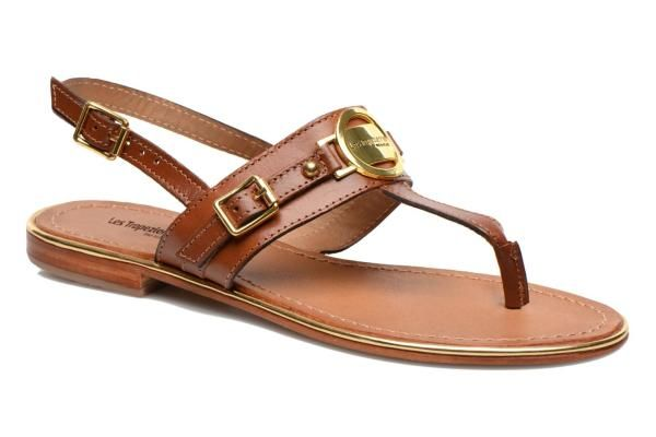 f334465c48fd8 Les Tropéziennes par M Belarbi Bebop (Brown) - Sandals chez Sarenza (212648)